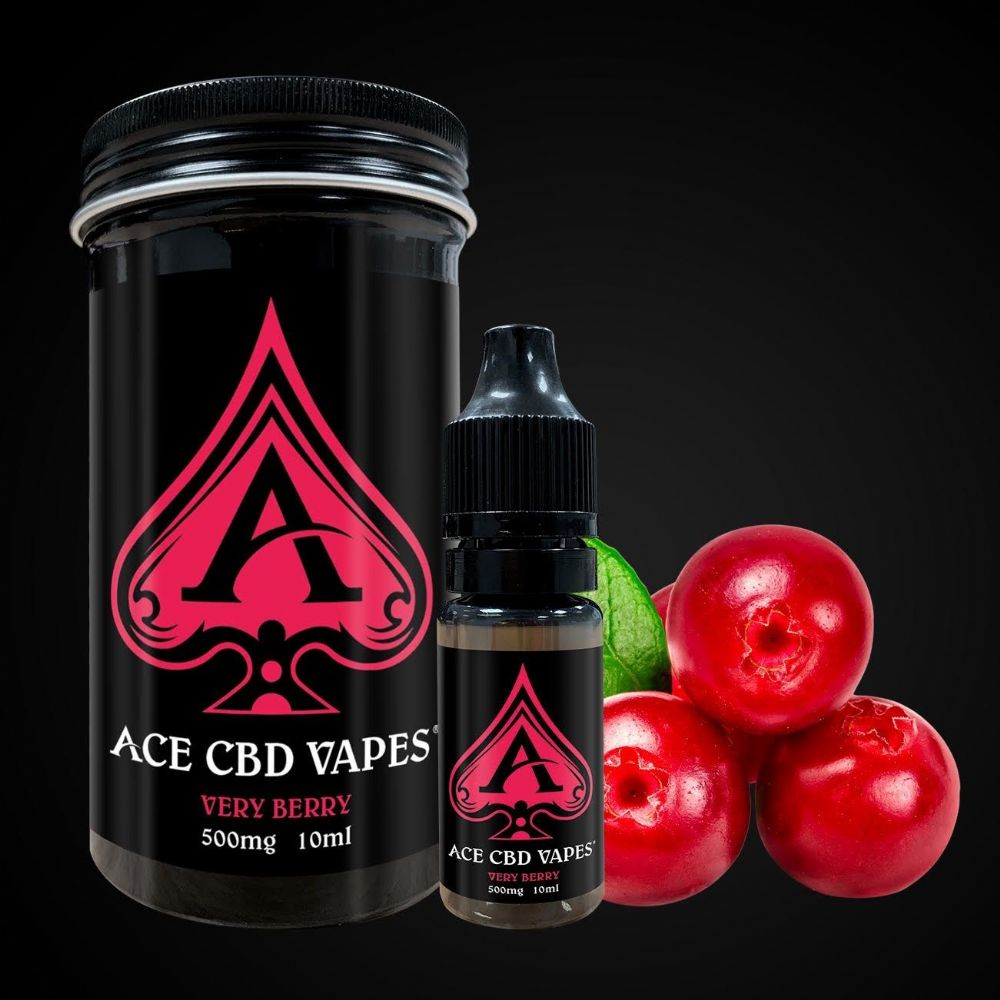 ACE CBD VERY BERRY VAPE 500MG (10ml)